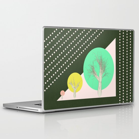 In my world forests are geometric Laptop & iPad Skin