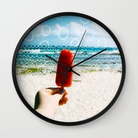 Popsicle  Wall Clock