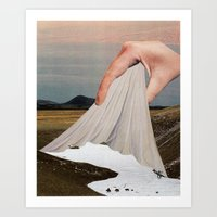 The Skin That Forms On T… Art Print