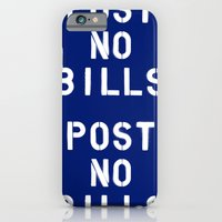 POST NO BILLS iPhone 6 Slim Case
