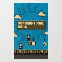 Supernatural Bros. Rug