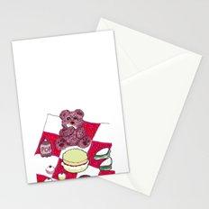 Teddy bear's picnic Stationery Cards