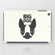 Big Mostacho Dog iPad Case