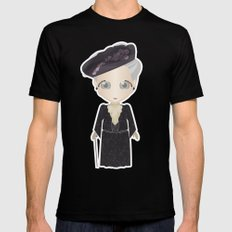 Violet Crawley, Dowager Countess of Grantham Black Mens Fitted Tee SMALL