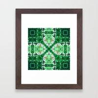 Emerald Leopard  Framed Art Print