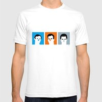 BRUCES Mens Fitted Tee White SMALL