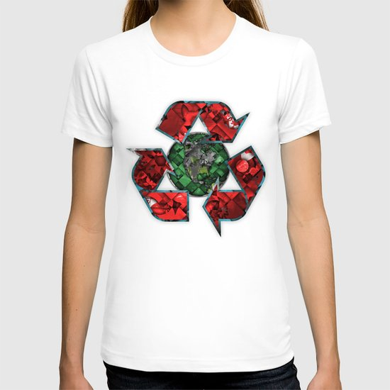 Recycle World - Green T-shirt