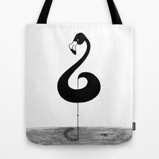 Musical Flamingo Tote Bag