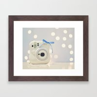 Instax Framed Art Print