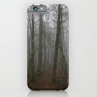 iPhone & iPod Case featuring Foggy Woods by Marisa Jane