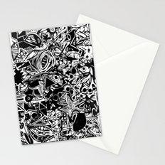 Black/White #1 Stationery Cards