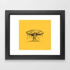 The tree of Immaturity Framed Art Print
