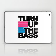 Turn Up The Bass Music Quote Laptop & iPad Skin