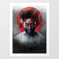 The Pain Lets You Know T… Art Print
