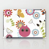 Owl In Pandora iPad Case
