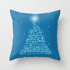 Holiday Tree Throw Pillow