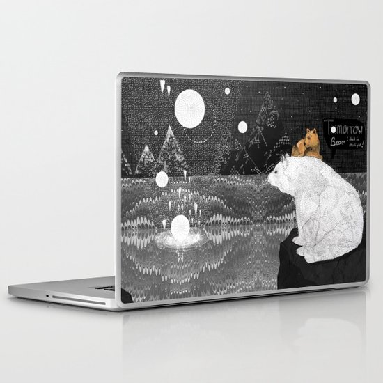 Tomorrow Bear Laptop & iPad Skin