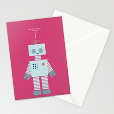 You Turn Me On Stationery Cards