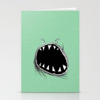 monster Stationery Cards featuring monster by Кaterina Кalinich