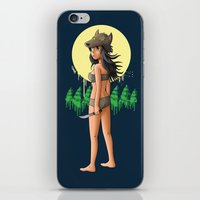 The Girl Who Killed The … iPhone & iPod Skin