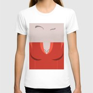 T'Pol - Vulcan - Minimal… Womens Fitted Tee White SMALL