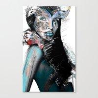 Mask 2 Canvas Print