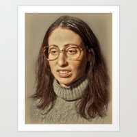 i.am.nerd. :: lauren s. Art Print