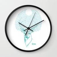 Dear Hart Wall Clock