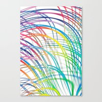 i'm a real wired one Canvas Print