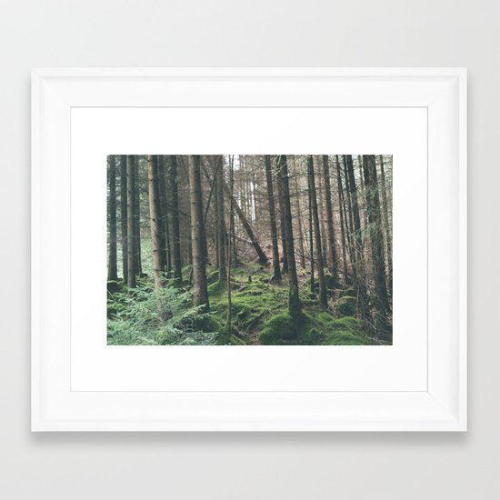 Mini - Woods Framed Art Print