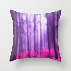 Fairy tale (Pink) Throw Pillow