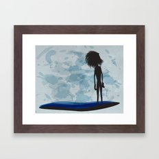 overlooking Framed Art Print