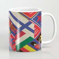 EU Travel Poster Mug