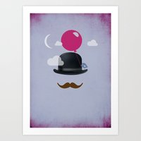 MR. CLOUD Art Print