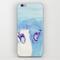 Two Lions iPhone & iPod Skin