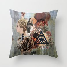 What Went Before Part 1 Throw Pillow