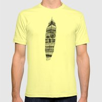 A long time ago I used to be an Indian Mens Fitted Tee Lemon SMALL