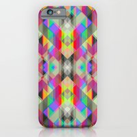 iPhone & iPod Case featuring Winter geometrics by LisaStannard