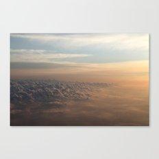 Cumulus Dunes Canvas Print