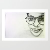 JAZMIN. Art Print