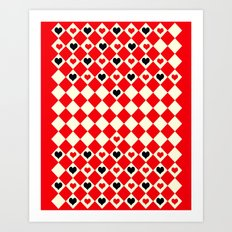 Game of Love! Art Print