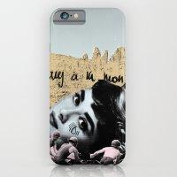 Audrey Hepburn à la montagne iPhone 6 Slim Case