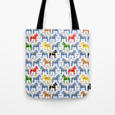 Dala Horse pattern Tote Bag