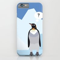 penguin iPhone & iPod Cases featuring Penguin by Nir P