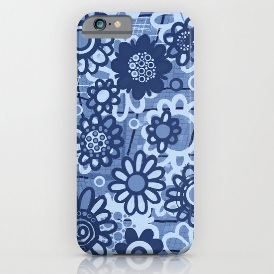 flower doodles v1 iPhone & iPod Case