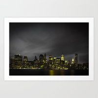 Welcome to Gotham Art Print