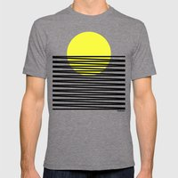 suton Mens Fitted Tee Tri-Grey SMALL