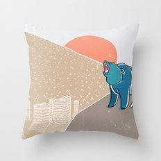 My home! Throw Pillow