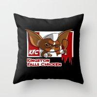 Kingston Falls Chicken Throw Pillow