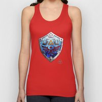 The Hylian Shield Unisex Tank Top